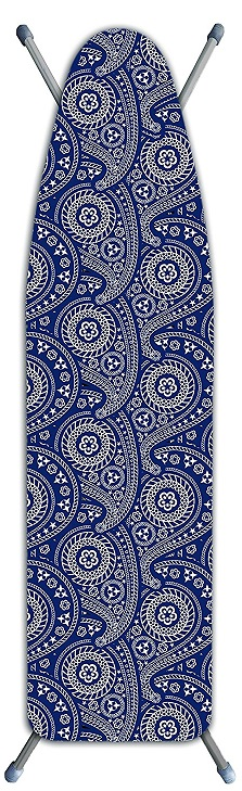 Laundry Solutions by Westex Deluxe Extra Thick Ironing Paisley Board Cover, Blue