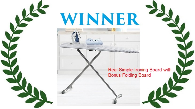 winner-Real Simple Ironing Board with Bonus Folding Board - IronsExpert.com