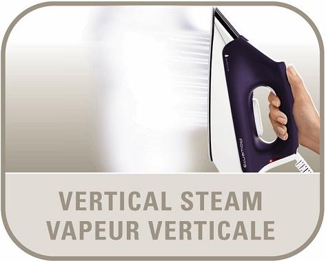 Rowenta DG8430 Pro Precision steam station vertical steam feature