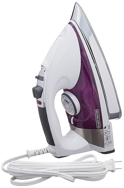 black and decker IR1350S iron main