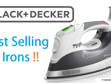 black and decker best selling irons banner
