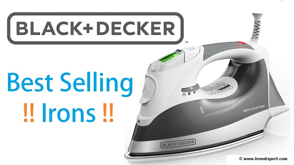 Black And Decker Best Ing Irons Banner