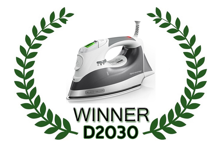 black and decker steam iron winner