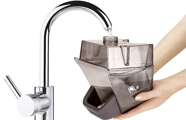 filling tank of rowenta is6300 garment steamer