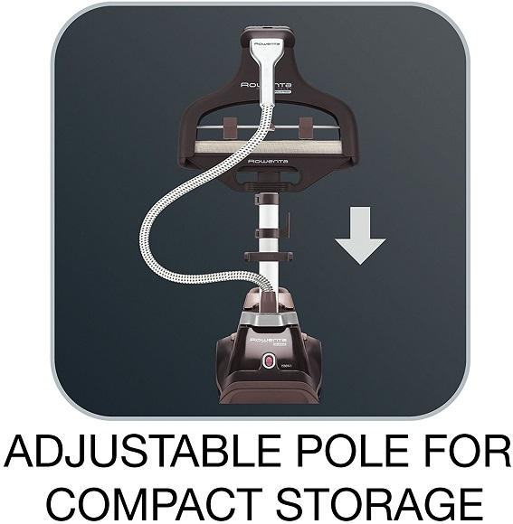 rowenta is6300 adjustable pole