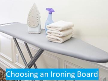 choosing ironing board