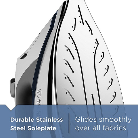 Black and decker d3030 durable stainless steel soleplate