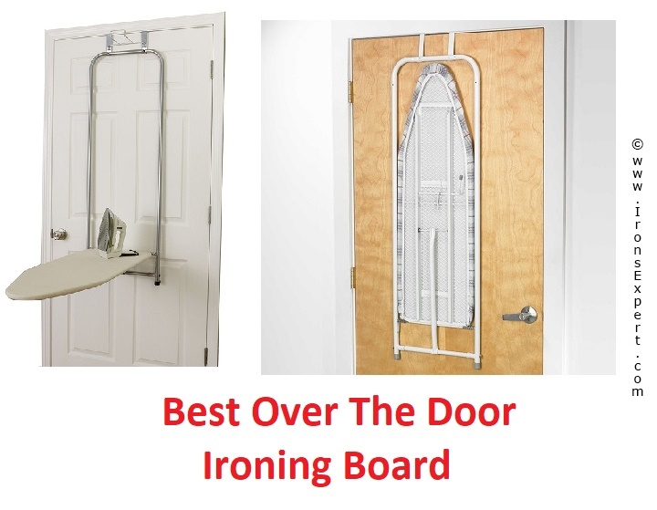 Over The Door Iron Caddy Ironing Board Holder Hanger Wall Mount Small Apartment