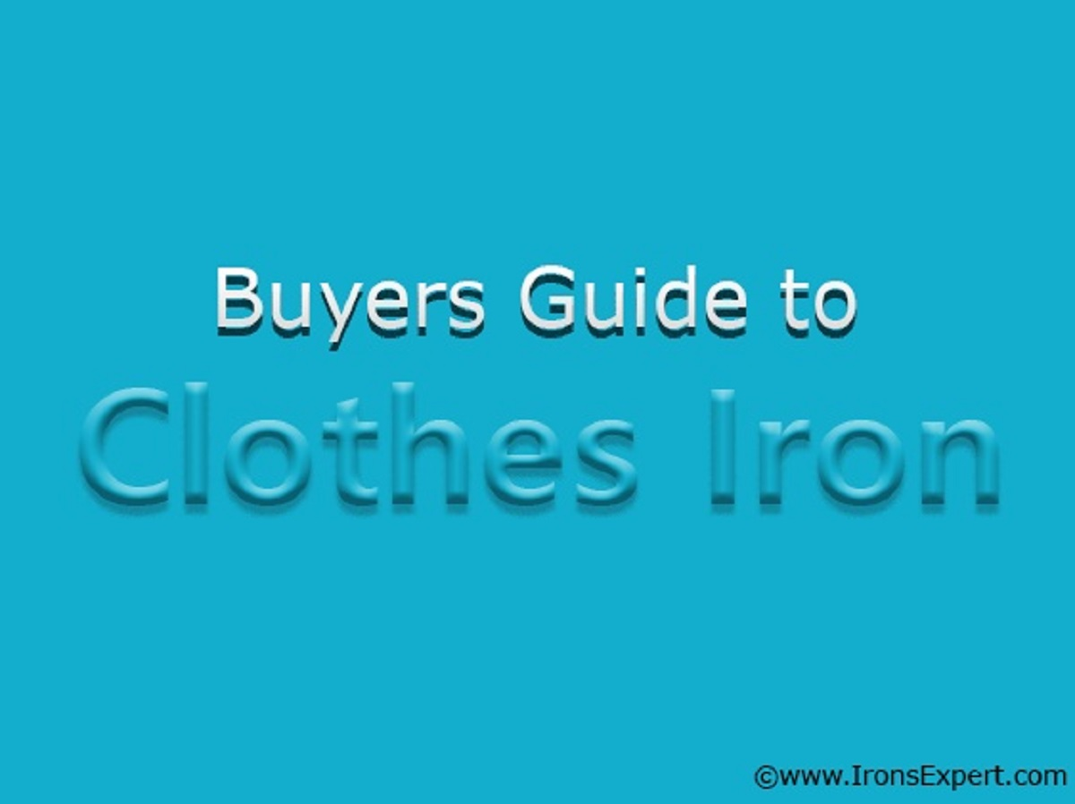 clothing iron buying guide