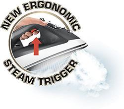 T-fal FV2640U0 ergonomic steam trigger